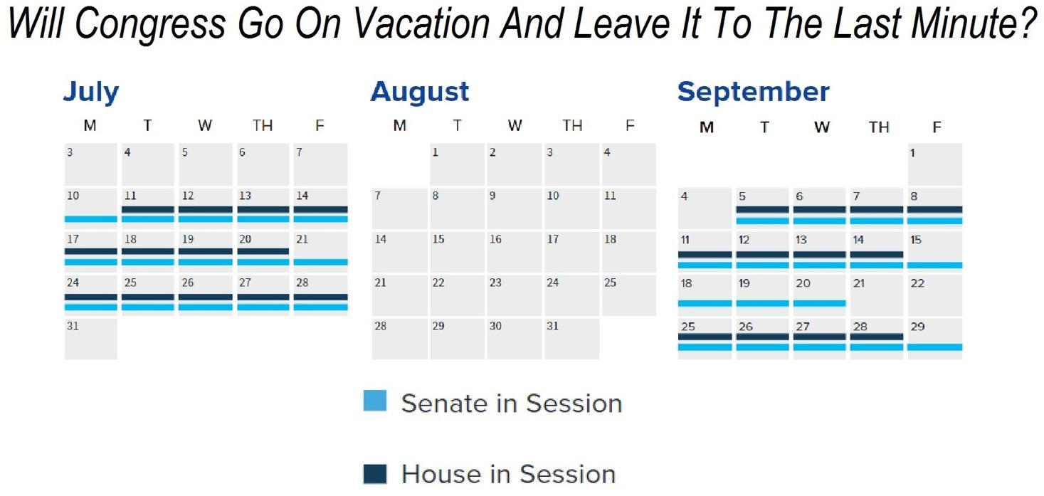 Congress's Schedule