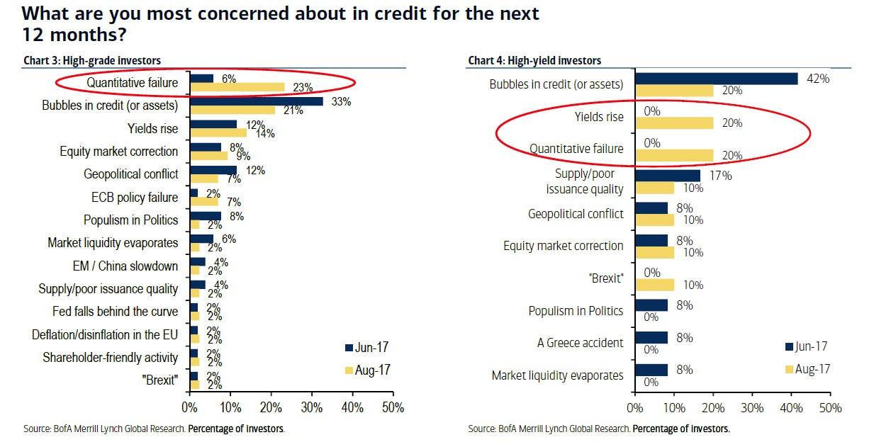 Bond Investors Worry About QE Failure