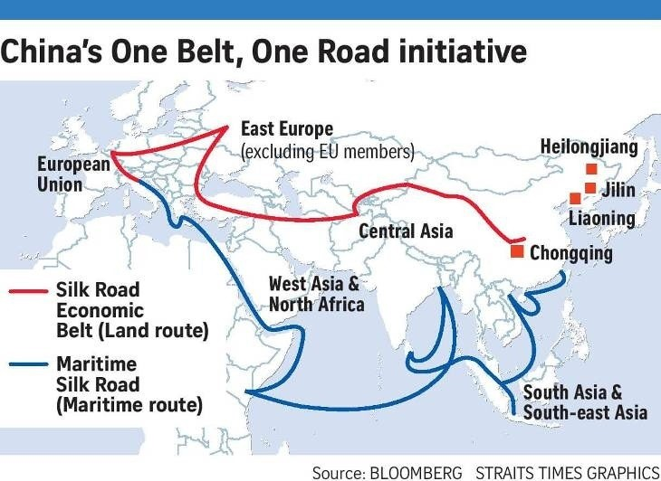 China Invests $1 Trillion To Boost Trade