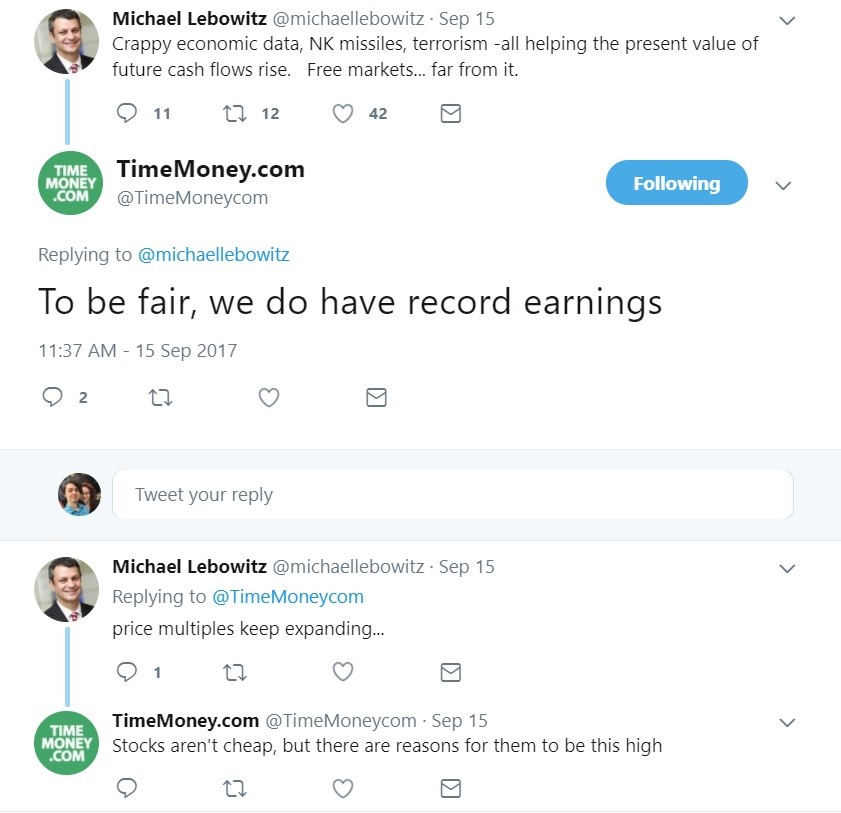 Do Record Earnings Justify Current Stock Levels?
