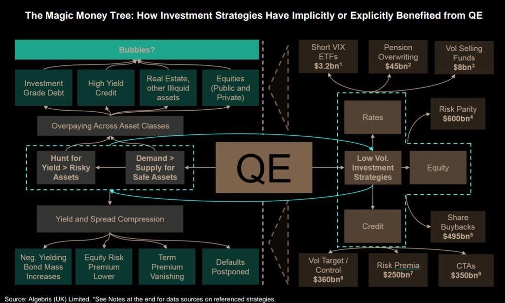 The Web Of QE
