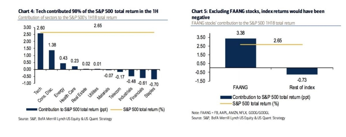 Tech Stocks & FAANG Lead The Way