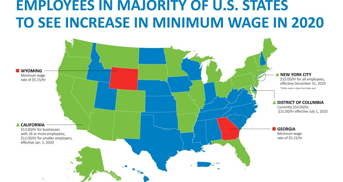 2020 Minimum Wage Hikes To Help Or Hurt Economy?